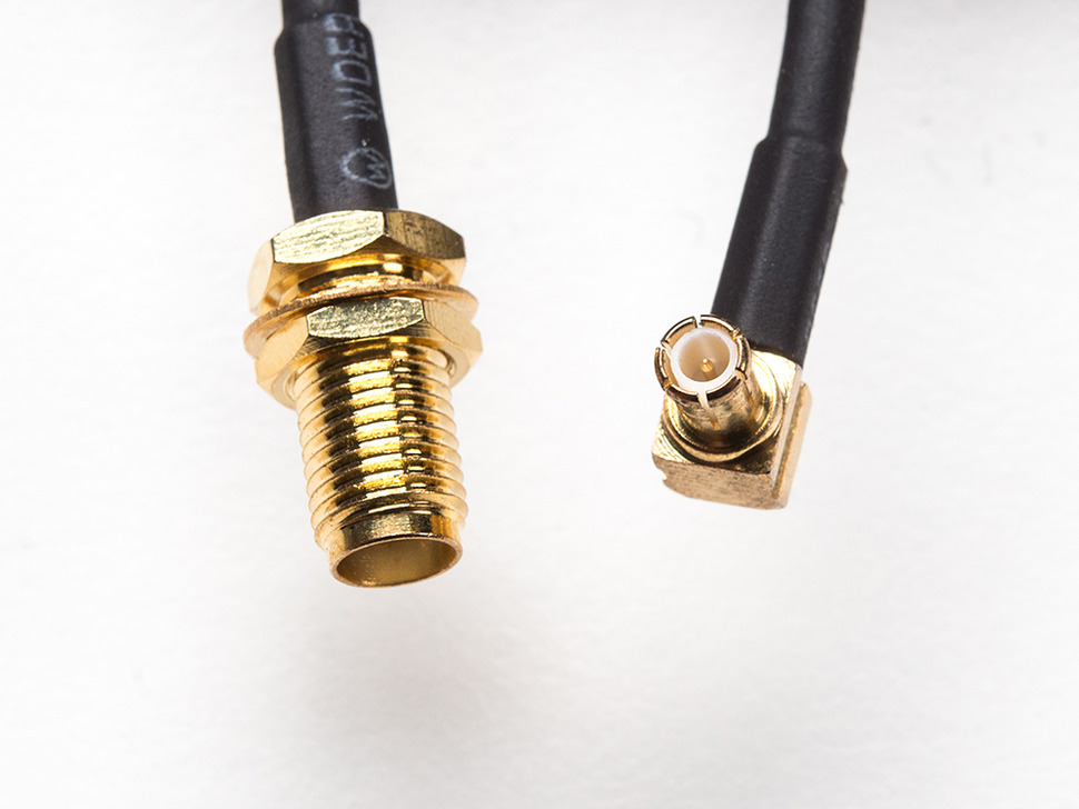 MCX Jack to SMA RF Cable Adapter