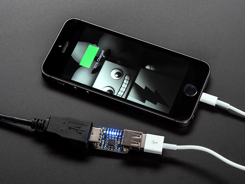 Adafruit USB Power Gauge Mini-Kit