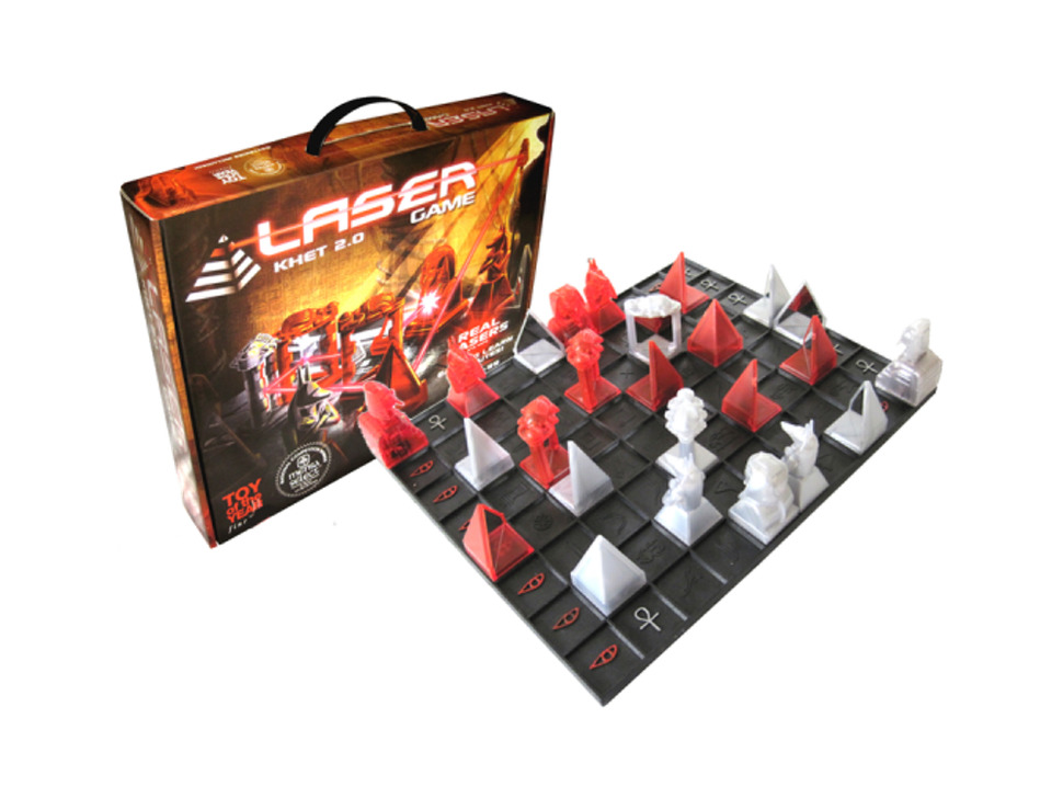 The Laser Game: KHET 2.0