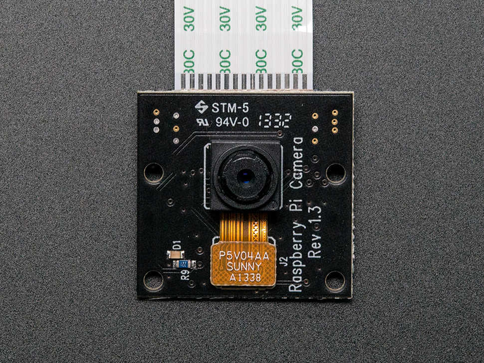 Raspberry Pi NoIR Camera Board - Infrared-sensitive Camera