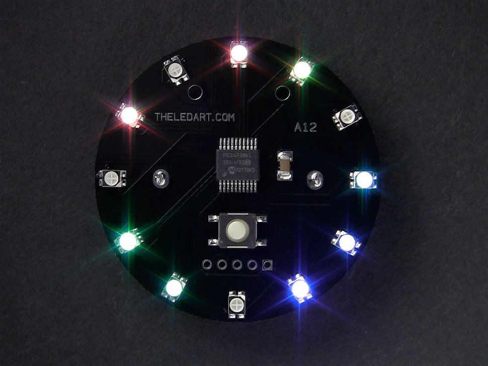 The LED Artist A12 - RGB LED Wearable