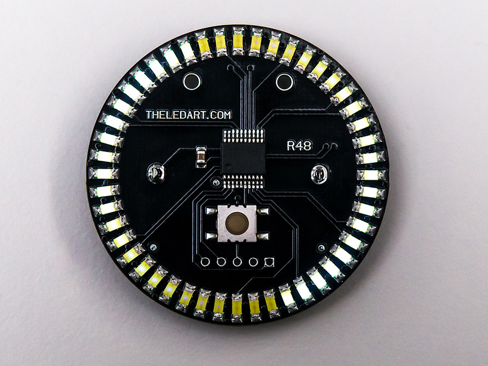 The LED Artist R48 - White LED Wearable