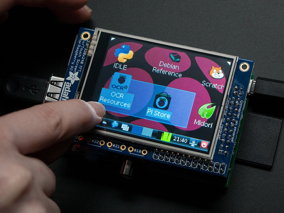 Adafruit PiTFT - 320x240 2.8