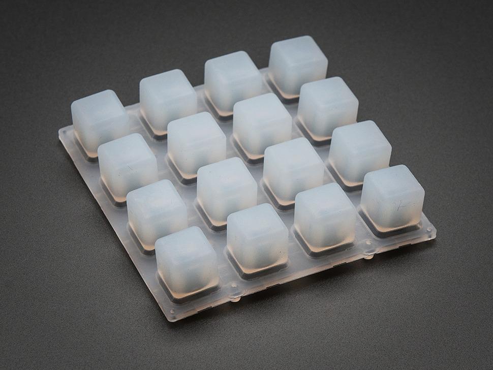 Silicone Elastomer 4x4 Button Keypad