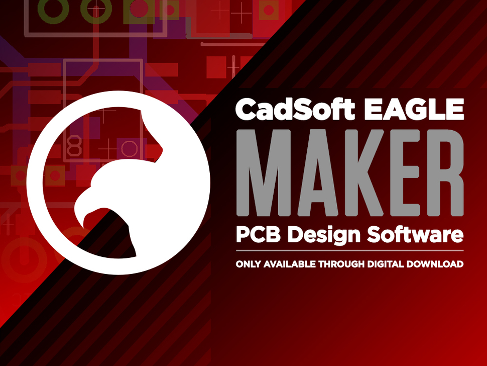 CadSoft EAGLE Maker - PCB Design Software