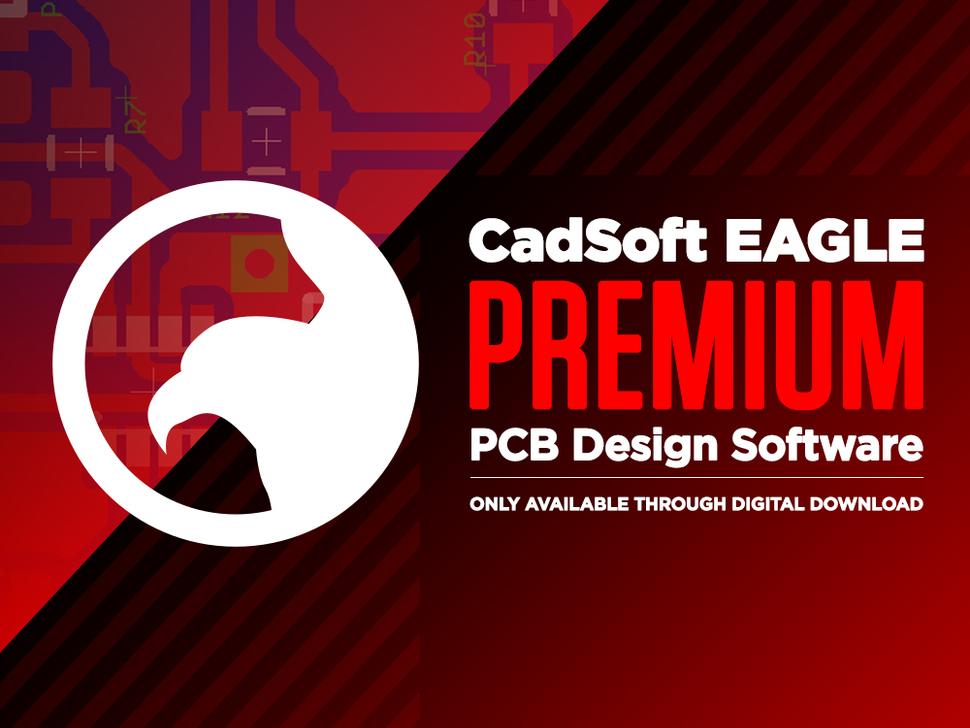 CadSoft EAGLE Premium - PCB Design Software - 1 User