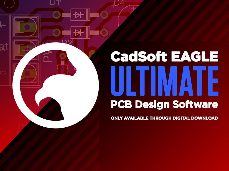 CadSoft EAGLE Ultimate - PCB Design Software - 1 User