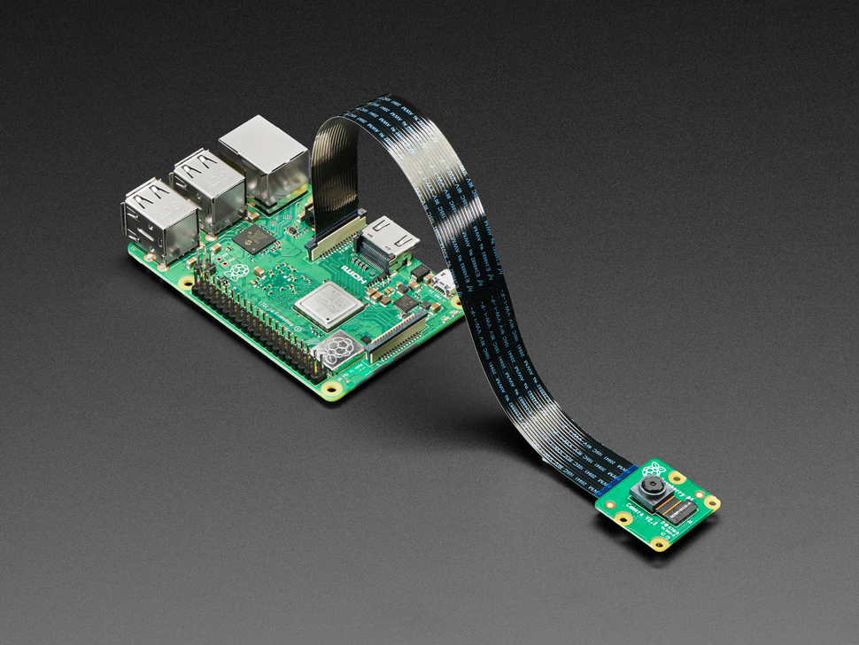 Flex Cable for Raspberry Pi Camera or Display - 300mm / 12""