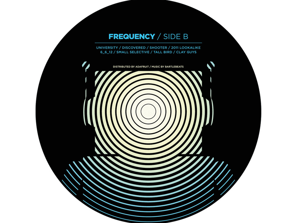 FREQUENCY - Adafruit's 1st Vinyl Record