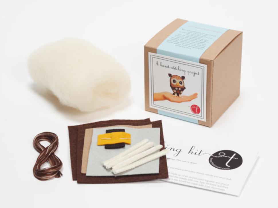 Sew-Your-Own Owl Kit - Cynthia Treen Studio