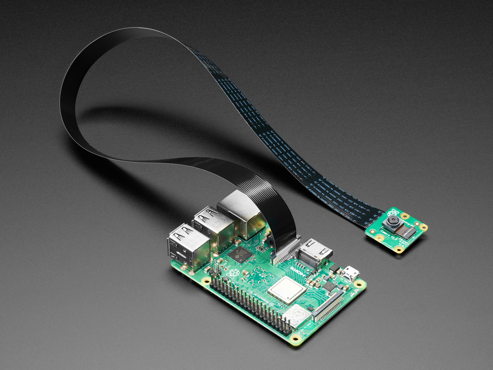 "Flex Cable for Raspberry Pi Camera or Display - 18"" / 457mm"
