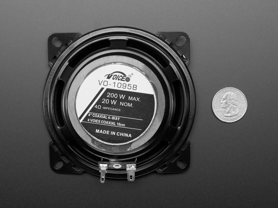 20W 4 Ohm Full Range Speaker - XS-GTF1027