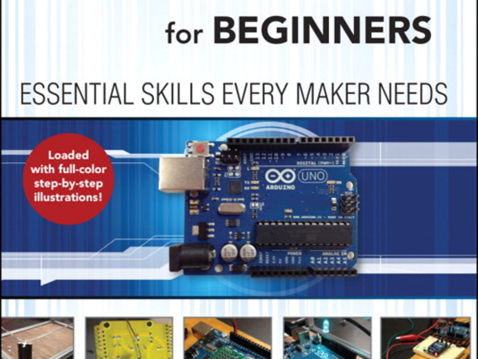 """Front cover of """"Arduino for Beginners Essential Skills Every Maker Needs"""""""