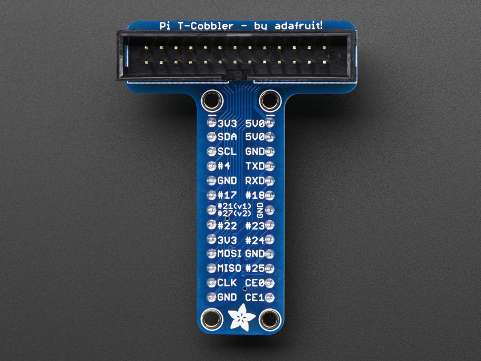 Adafruit Assembled Pi T-Cobbler Breakout for Raspberry Pi