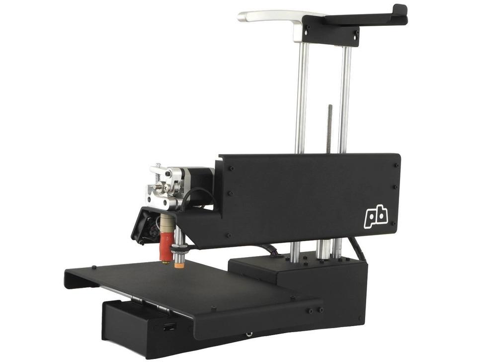 Assembled PrintrBot Simple Metal 3D Printer