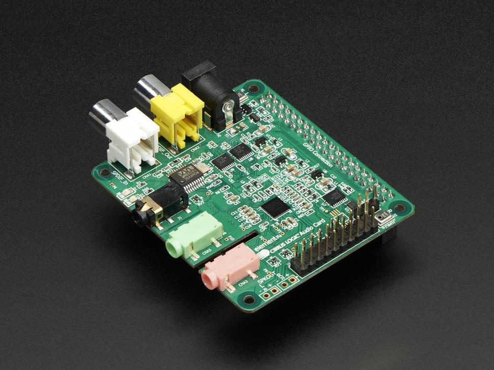 Cirrus Logic Audio Card