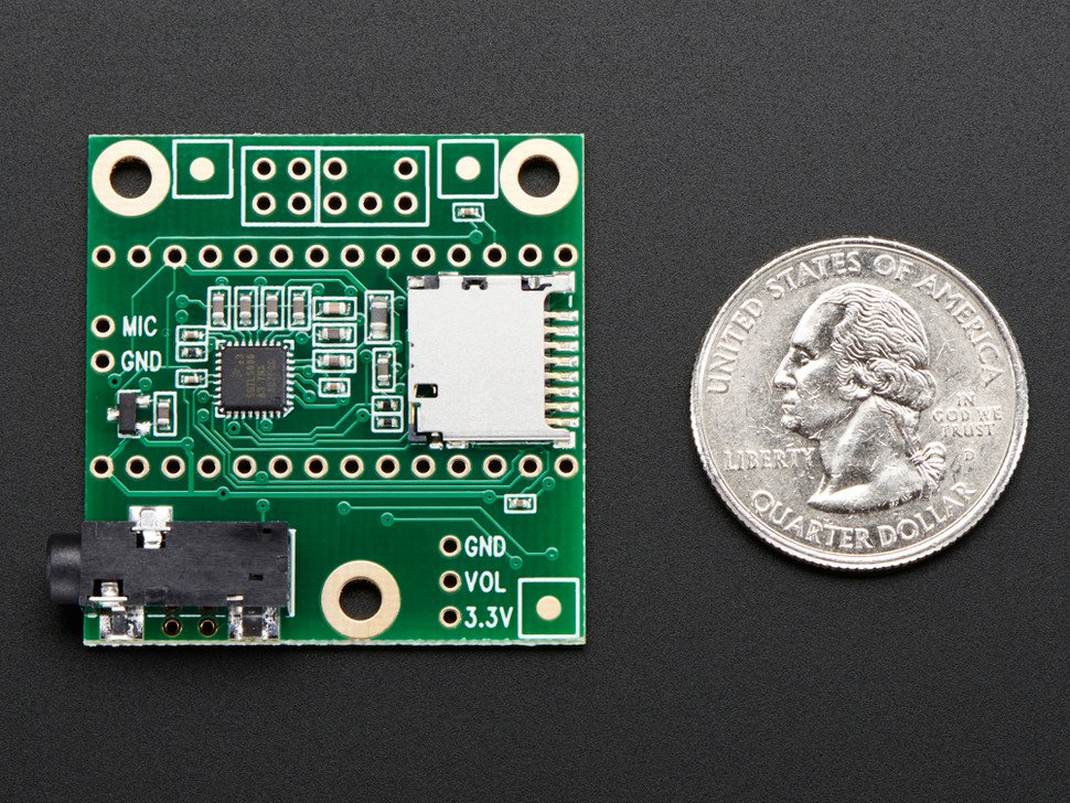 Audio Adapter Board for Teensy 3.0 - 3.2, 3.5 and 3.6