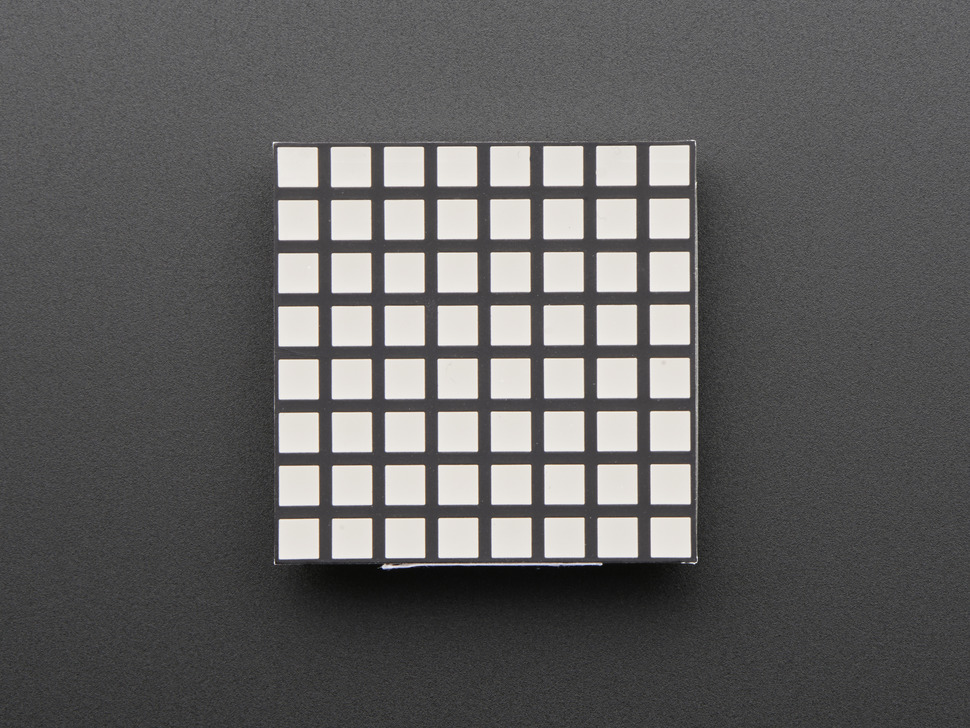 "1.2"" 8x8 Matrix Square Pixel - Yellow - KWM-R30881CUYB"