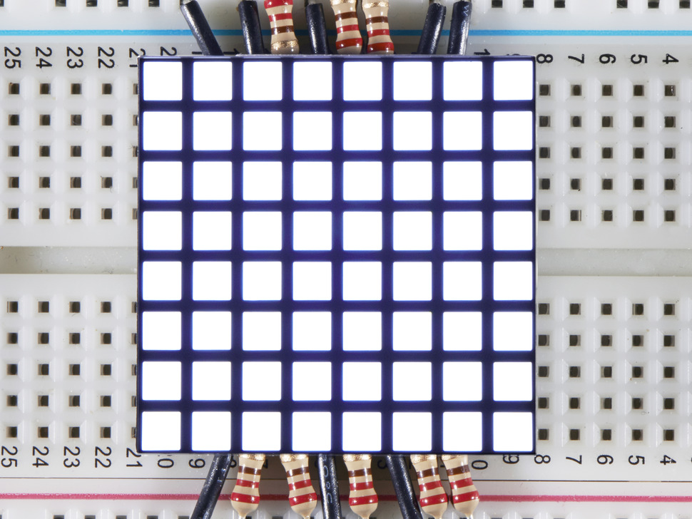 1.2 8x8 Matrix Square Pixel - White - KWM-R30881CWB-Y