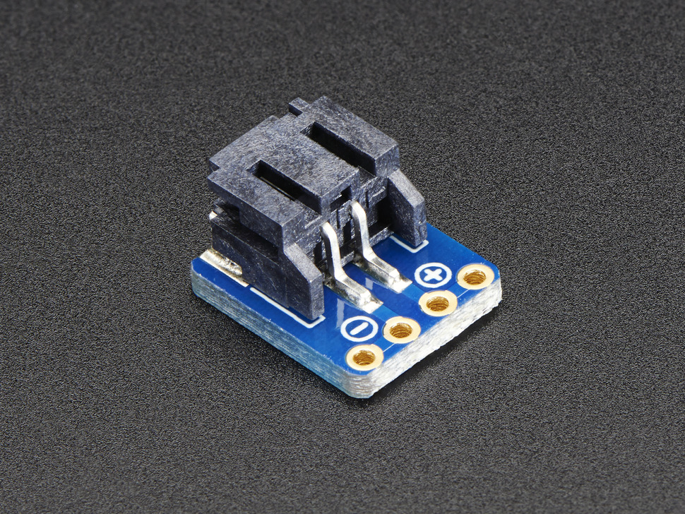 JST-PH 2-Pin SMT Right Angle Breakout Board