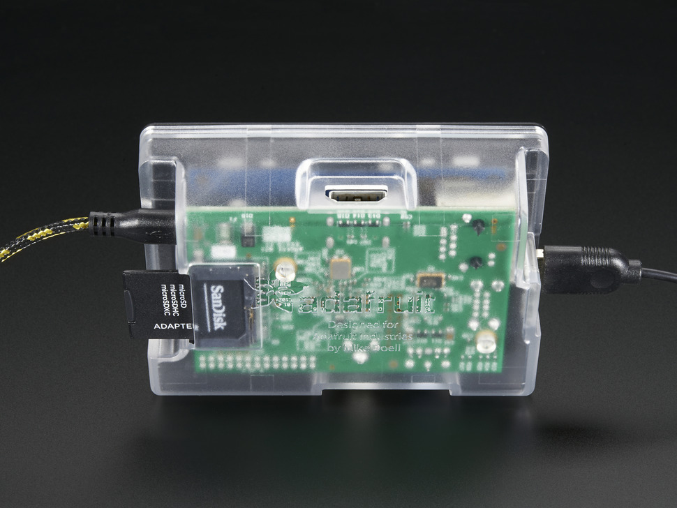 Enclosure for PiTFT - Raspberry Pi Model B