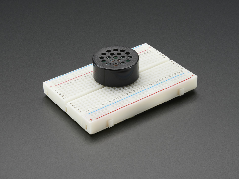 Breadboard-Friendly PCB Mount Mini Speaker - 8 Ohm 0.2W