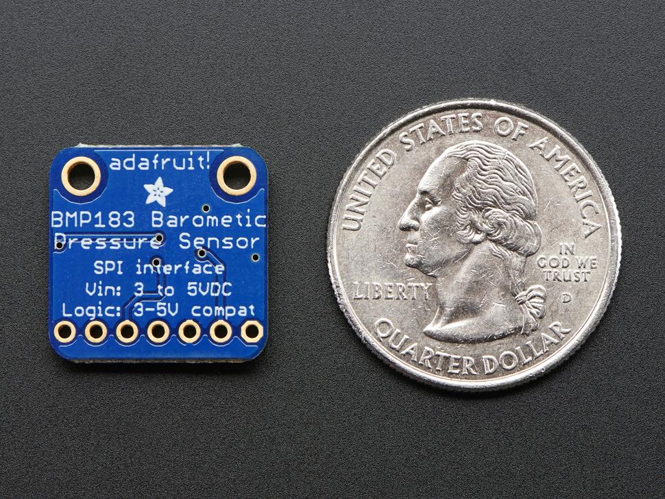Adafruit BMP183 SPI Barometric Pressure & Altitude Sensor