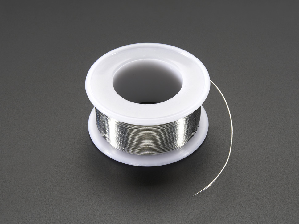 "Solder Wire - SAC305 RoHS Lead Free - 0.5mm/.02"" diameter - 50g"