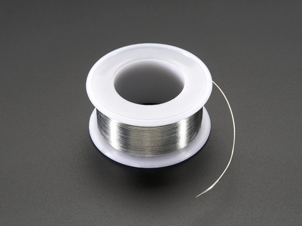 Solder Wire - SAC305 RoHS Lead Free - 0.5mm/.02