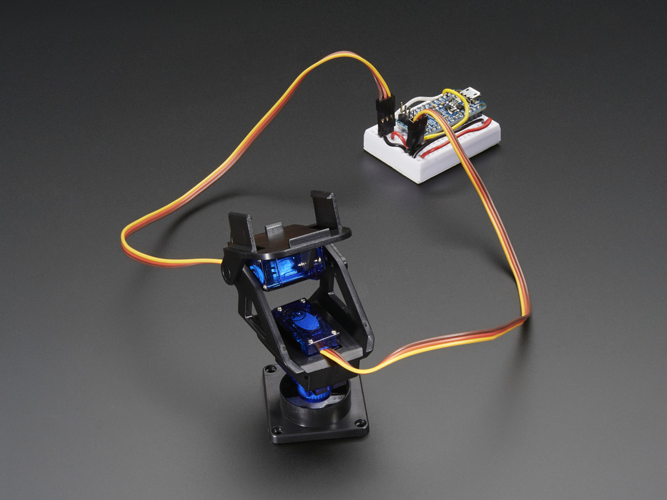 Unassembled Mini Pan-Tilt Kit (Without Micro Servos)