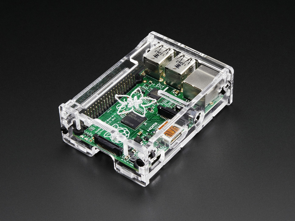 Adafruit Pi Box Plus -  Enclosure for RasPi Model B+ / Pi 2