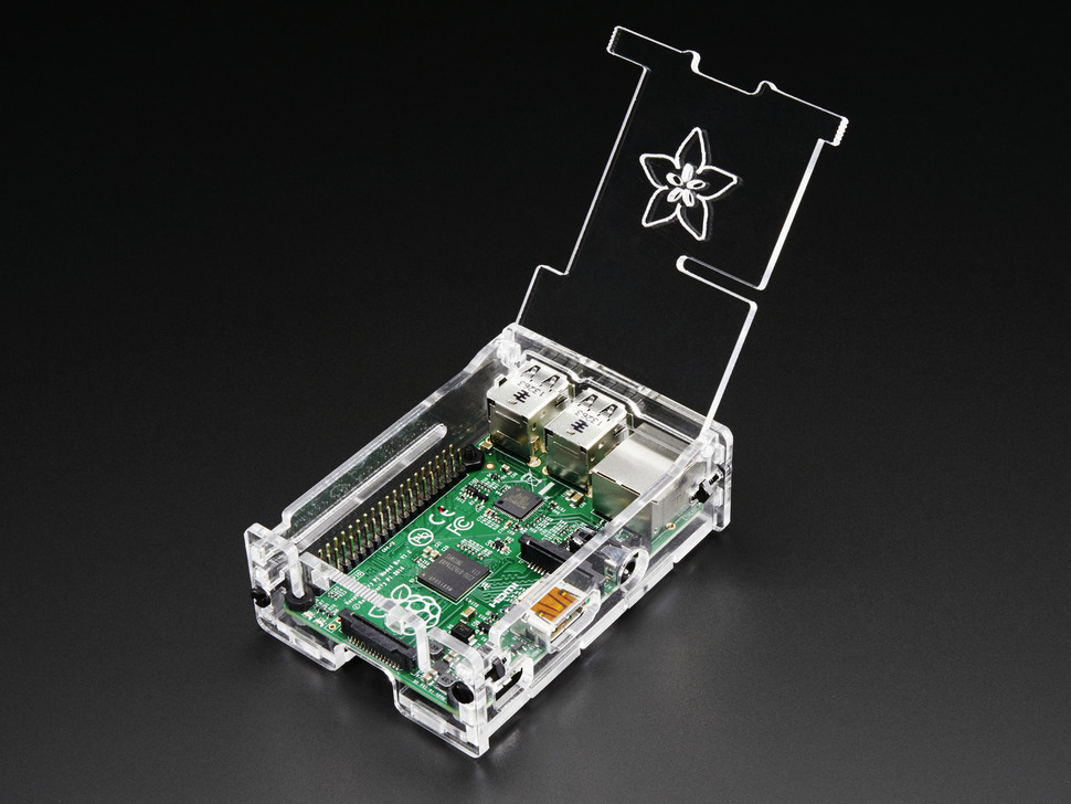 Adafruit Pi Box Plus -  Enclosure for RasPi Model B+/Pi 2/ Pi 3