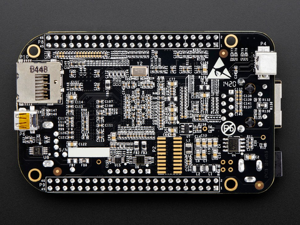 Element 14 BeagleBone Black Rev C - 4GB - Pre-installed Debian - Newark / Element 14 / Embest