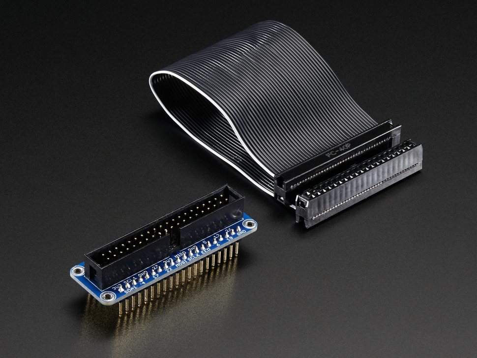 Assembled Pi Cobbler Plus - Breakout Cable - for Pi B+/A+/Pi 2/Pi 3