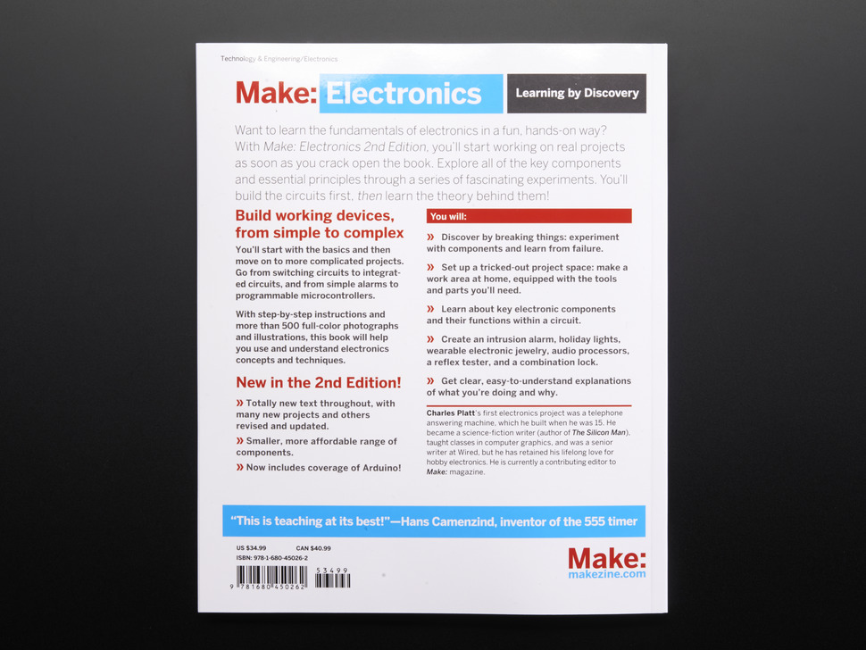 Make: Electronics (Charles Platt) - 2nd Edition