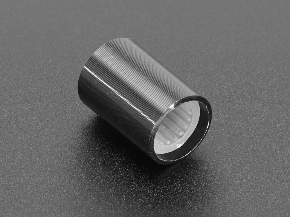 Slim Metal Potentiometer Knob - 10mm Diameter x 15mm - T18