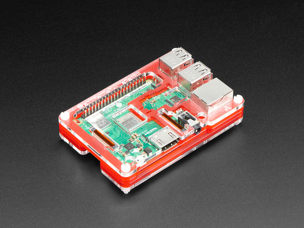 Pibow Coupé - Enclosure for Raspberry Pi 2 / B+ / Pi 3 / Pi 3 B