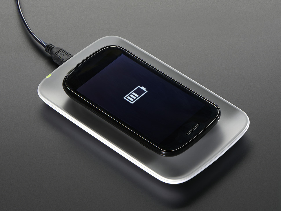 Universal Qi Wireless Charging Module - 60mm Forward MicroUSB