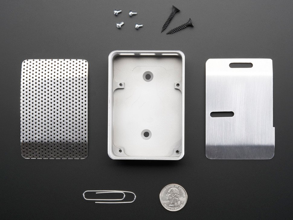 UniPi+ - Unibody aluminum case for Raspberry Pi - Model B+ / Pi 2 / Pi 3