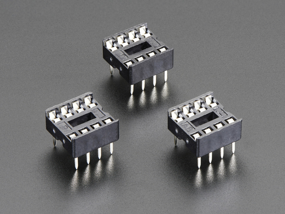 IC Socket - for 8-pin 0.3