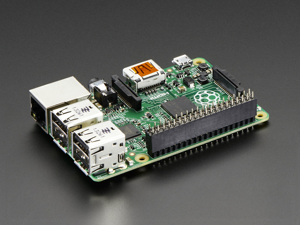GPIO Header for Raspberry Pi A+/B+/Pi 2/Pi 3 - 2x20 Female Header