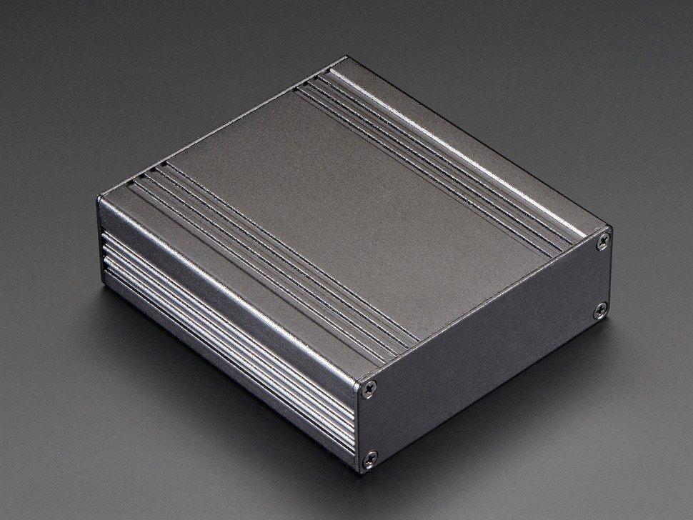 Extruded Aluminum Box - 94mm x 83mm x 30mm