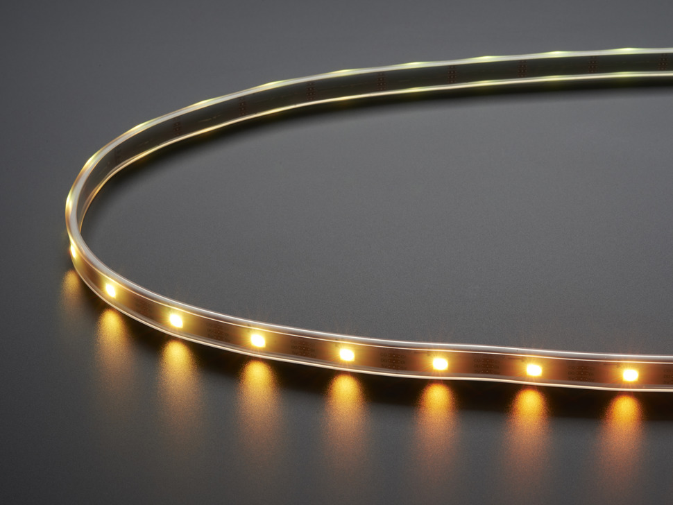 Adafruit DotStar Digital LED Strip - White 30 LED - Per Meter - WHITE