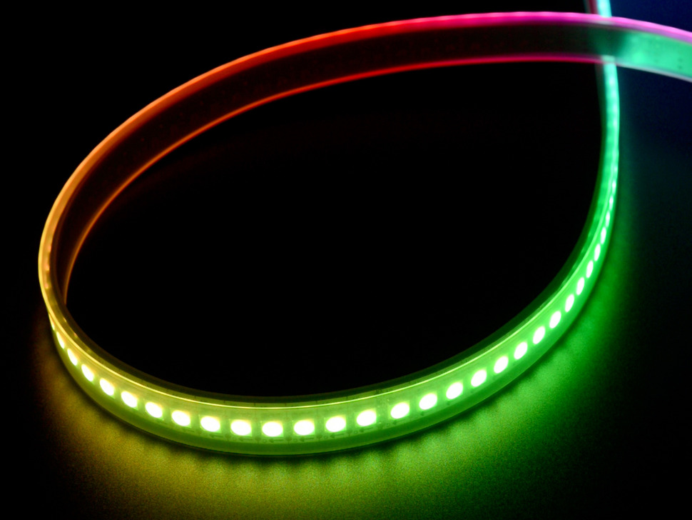 Adafruit DotStar Digital LED Strip - White 144 LED/m - One Meter - WHITE