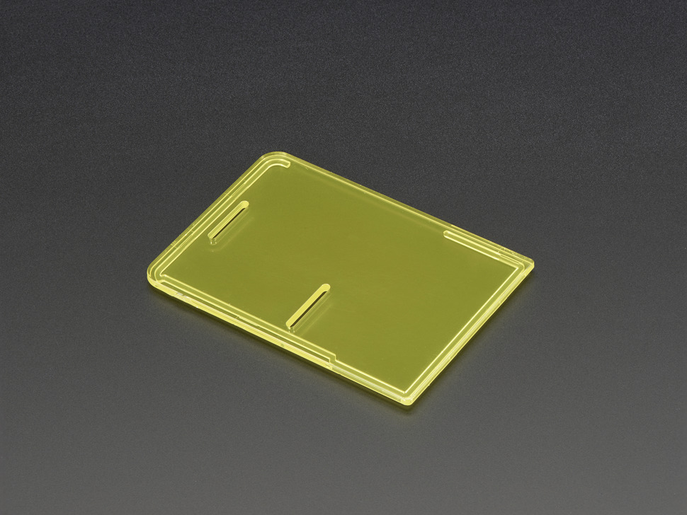 Raspberry Pi Model B+ / Pi 2 / Pi 3 Case Lid - Yellow
