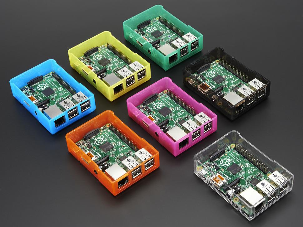Pi Model B+ / Pi 2 / Pi 3 Case Base - Various Colors