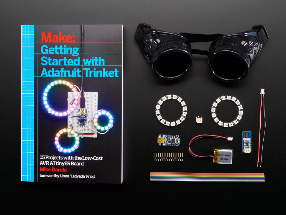 Getting Started with Trinket Book + NeoPixel Goggles Pack