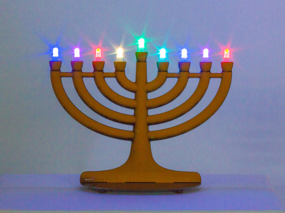 Evil Mad Scientist Labs Mega Menorah 9000