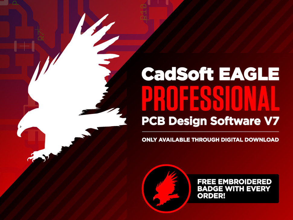NEW PRODUCT – CadSoft EAGLE Professional PCB Design Software V7 – 1 ...