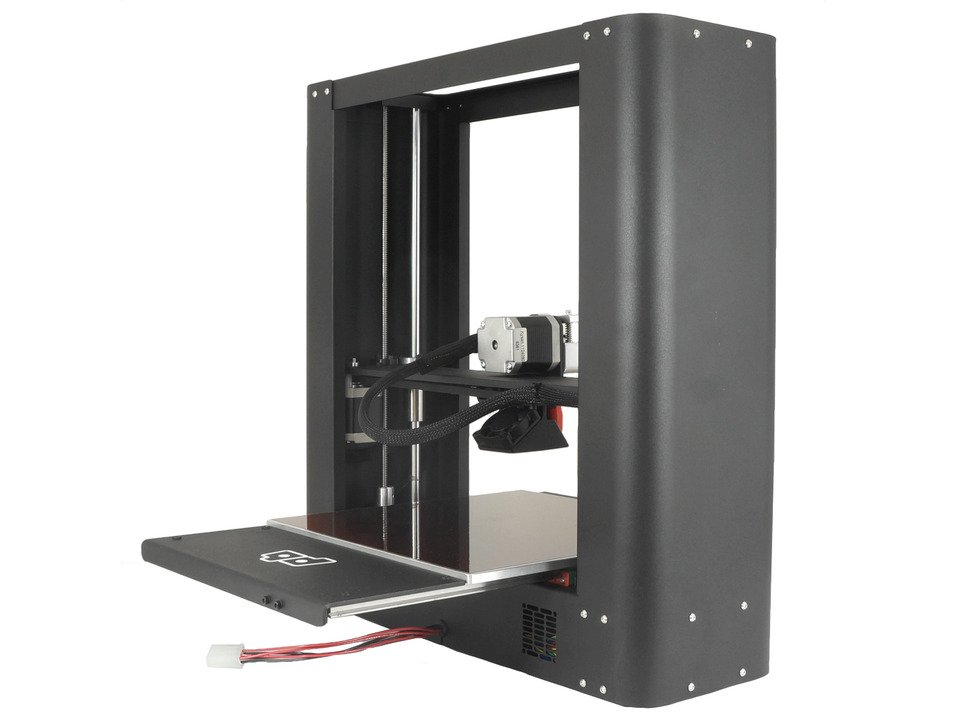 PrintrBot Metal PLUS 3D Printer - Black Assembled - Heated Bed - Model 1504